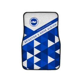 Brighton & Hove Albion FC Patterned Front Car Mat