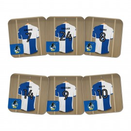 Bristol Rovers FC Dressing Room Coasters