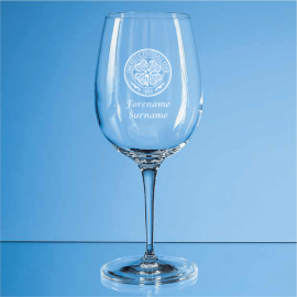 Celtic Personalised Crest Wine Glass