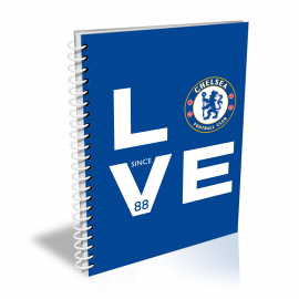 Chelsea FC Love Notebook
