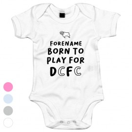 Derby County Born to Play Baby Bodysuit