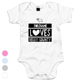 Derby County Loves Baby Bodysuit