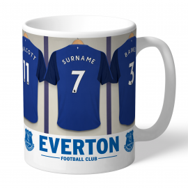 Everton FC Dressing Room Mug