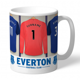 Everton FC Goalkeeper Dressing Room Mug