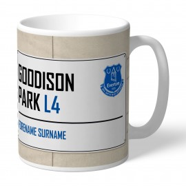 Everton FC Street Sign Mug