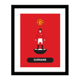 Manchester United FC Player Figure Print