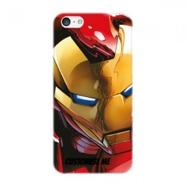 Marvel Avengers Assemble Iron Man iPhone 5C Clip Case