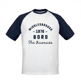 Middlesbrough FC Stadium Vintage Baseball T-Shirt