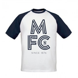 Middlesbrough FC Stripe Baseball T-Shirt