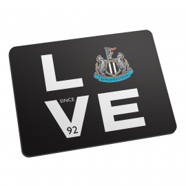 Newcastle United FC Love Mouse Mat
