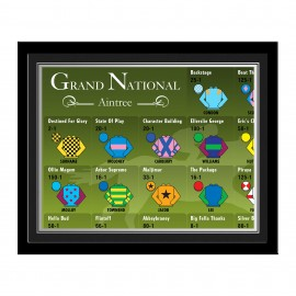 Personalised Grand National Photo Frame