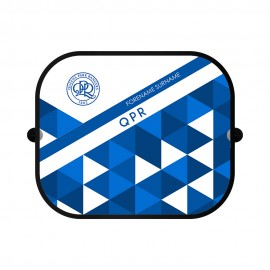 Queens Park Rangers FC Patterned Car Sunshade