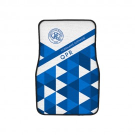 Queens Park Rangers FC Patterned Front Car Mat