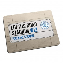 Queens Park Rangers FC Street Sign Mouse Mat