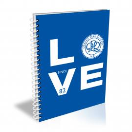 Queens Park Rangers Love Notebook