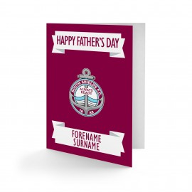 South Shields FC Crest Father's Day Card