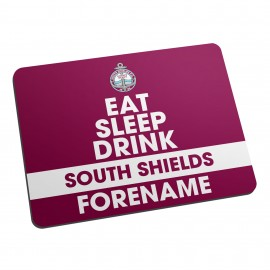 South Shields FC Eat Sleep Drink Mouse Mat
