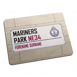 South Shields FC Street Sign Mouse Mat
