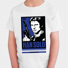 Star Wars Han Solo Pop Art Kids T-shirt