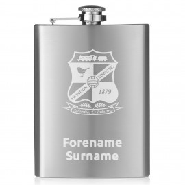 Swindon Town Crest Hip Flask