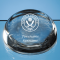 Sheffield United Personalised Crest Optical Dome Paperweight