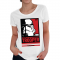 Star Wars Storm Trooper Pop Art Womens T-shirt